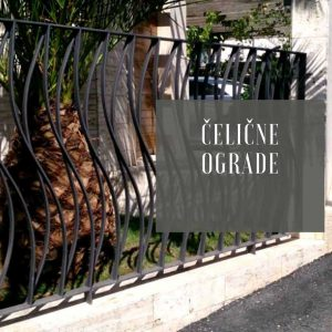 Čelična ograda Metal Inox