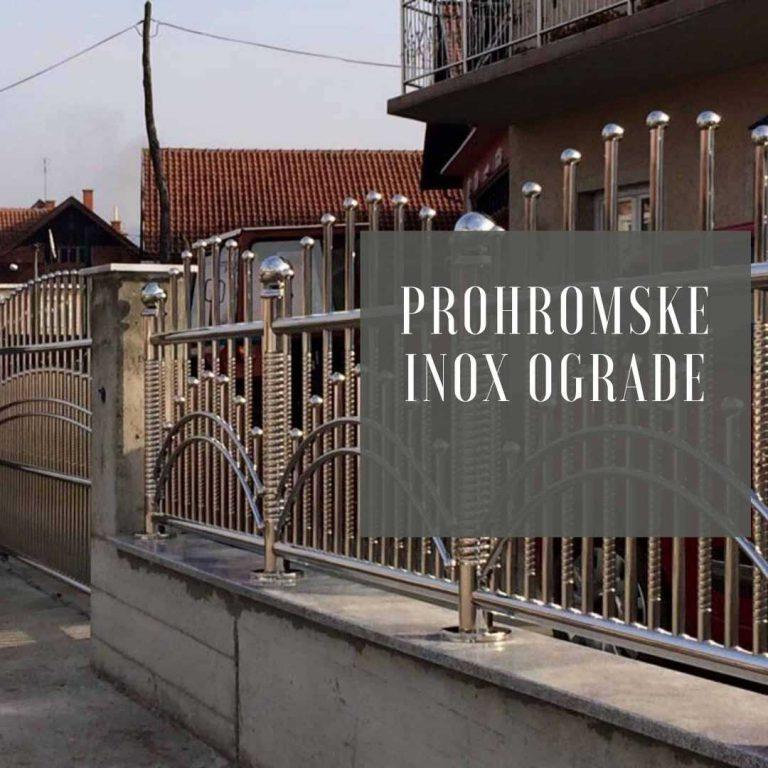 Prohromske Inox ograde Metal Inox