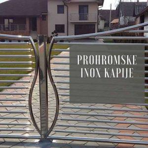 Prohromske Inox kapije Metal Inox