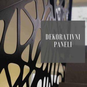 Dekorativni metalni paneli Metal Inox